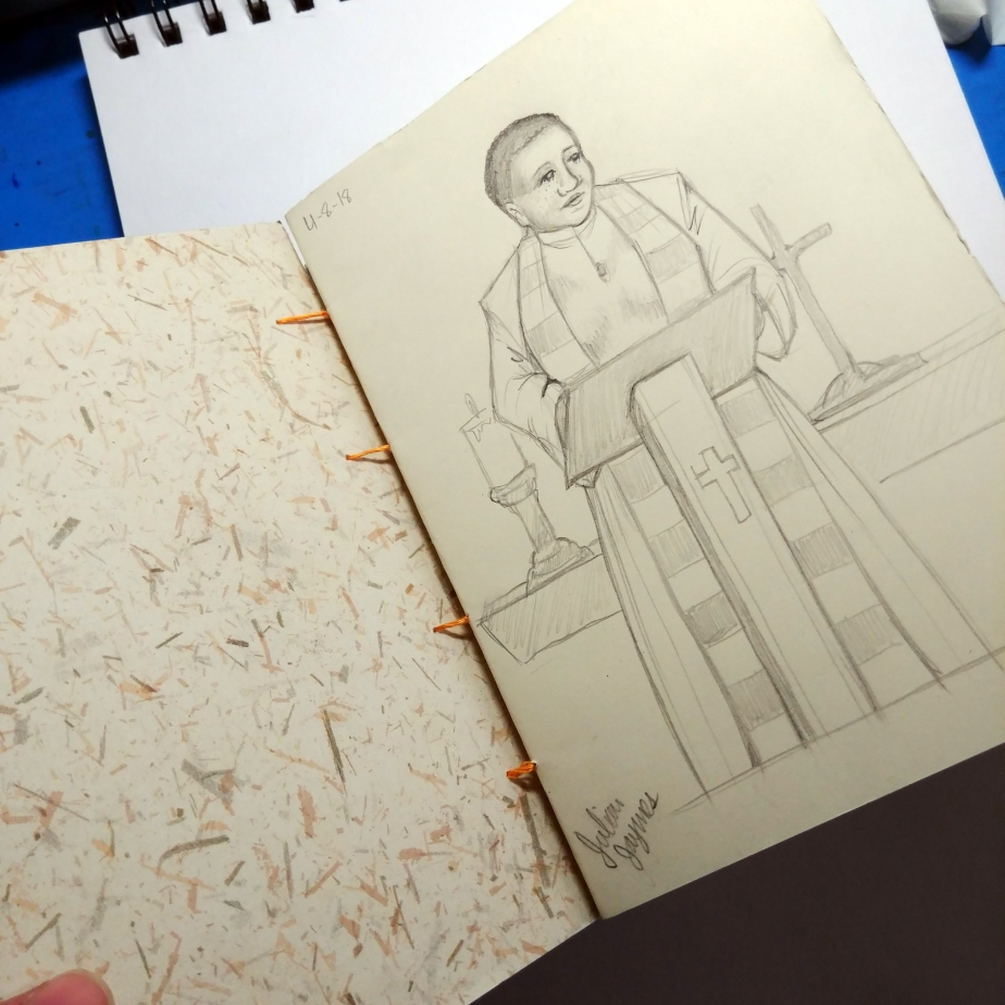 Weekly Update 4-9-18: Life Drawing, Book-Binding, and Even More TarotCards