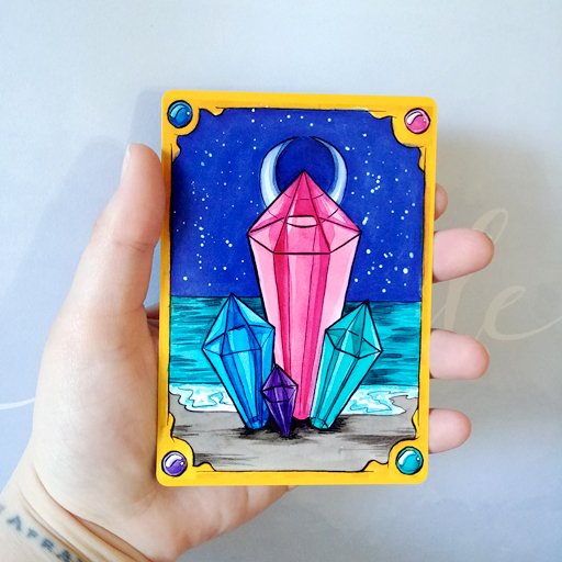 SPECIAL ANNOUNCEMENT Blog 4/22/19| The Millennial Mystic Tarot's First Printing, New Project-mom Syndrome, and All My Feelings