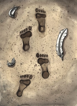 TheFootprints_Paint